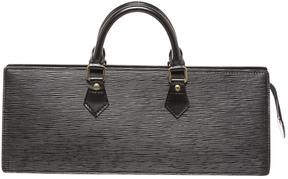 Louis Vuitton Triangle leather satchel - BLACK - STYLE