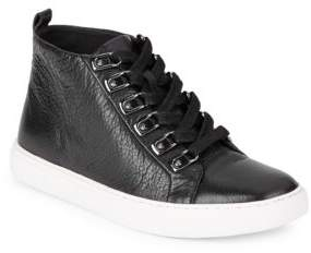 Kenneth Cole Kale Leather Hi-Top Sneakers