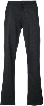Universal Works Aston flannel trousers