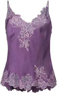Carine Gilson lace detail camisole