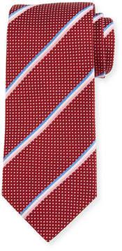 Eton Striped & Dotted Silk Tie