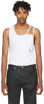 Helmut Lang White Reveal Tank Top