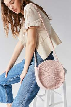 Urban Outfitters Circle Woven Crossbody Bag