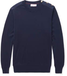Brunello Cucinelli Button-Detailed Cotton Sweater