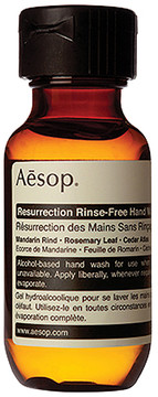 Aesop Resurrection Rinse-Free Hand Wash.