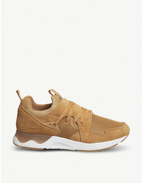 Asics Gel-Lyte V Sanze suede and mesh trainers