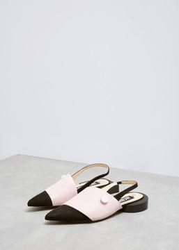 Jacquemus Black / Pink Les Sandales Boutons