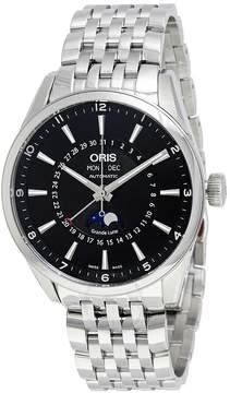 Oris Artix Complication Black Dial Moonphase Automatic Men's Watch 915-7643-4034MB