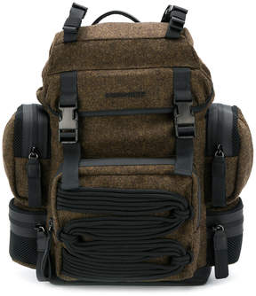 DSQUARED2 multi-compartment backpack