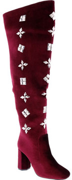 Penny Loves Kenny Kevel Velvet Thigh High Boot (Women's)