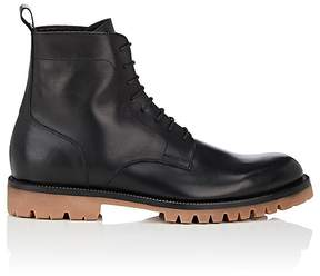 Barneys New York Men's Leather Lace-Up Boots