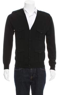 Ralph Lauren Black Label Knit V-Neck Cardigan
