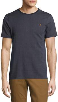 Farah Men's Lawrence Cotton Jacquard Tee