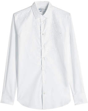 Alexander McQueen Embroidered Cotton Shirt