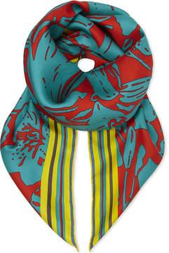 Diane von Furstenberg Leclaire silk scarf