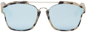 Christian Dior Tortoiseshell Abstract Sunglasses