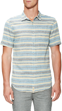 Jachs Men's One Pocket Short Sleeve Sportshirt