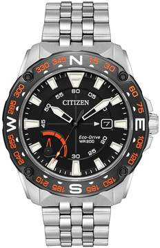 Citizen Eco-Drive Men's PRT Stainless Steel Watch - AW7048-51E