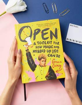 Books Open by Gemma Cairney Book: A Toolkit for How Magic and Messed Up Life Can Be