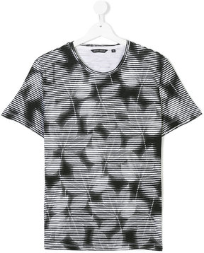 Antony Morato Teen graphic leaf print T-shirt