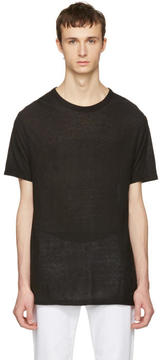 Alexander Wang Black Pilling T-Shirt