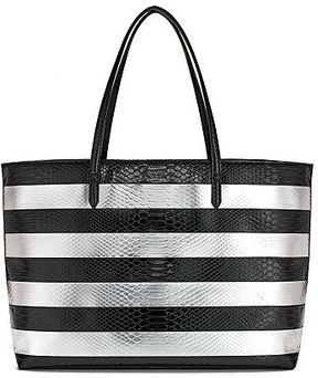 Victoria's Secret Victorias Secret Luxe Python Stripe Everything Tote