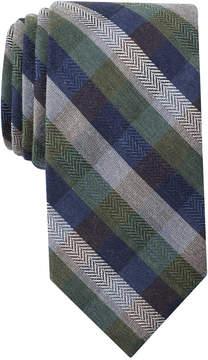 Bar III Men's Georgia Plaid Skinny Tie, Created for Macy's