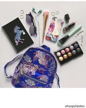 FOREVER 21 Floral Mini Backpack