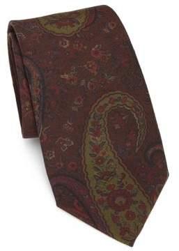 Ralph Lauren Purple Label Ancient Madder Paisley Tie