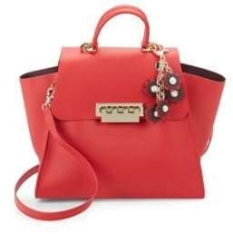 Zac Posen Eartha Iconic Leather Top Handle Bag