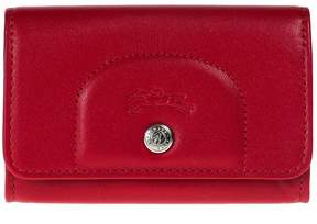 Longchamp Card Holder Le Cuir Pliage - RED - STYLE
