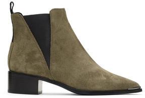 Acne Studios Grey Suede Jensen Boots