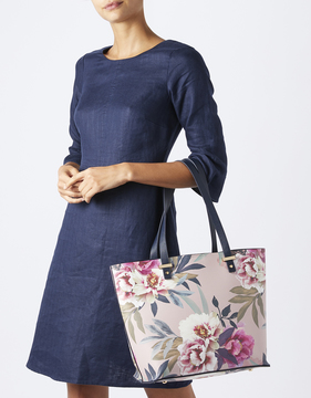 Lydia Printed Shopper Bag