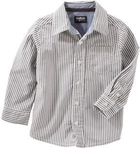 Osh Kosh Boys 4-12 Striped Button Down Shirt