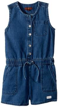 7 For All Mankind Kids Romper Girl's Jumpsuit & Rompers One Piece