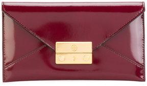 Tory Burch Juliette envelope pouch - PINK & PURPLE - STYLE
