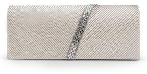 Jessica McClintock Gunne Sax by Ivanna Pleated Flap Clutch