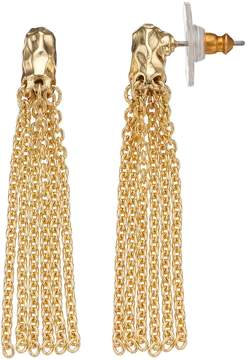 Dana Buchman Chain Fringe Drop Earrings