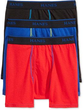 Hanes X-Temp Performance 3-Pk. Boxer Briefs, Little Boys (4-7) & Big Boys (8-20)