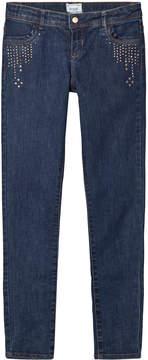 Mayoral Navy Stud Detail Jeans