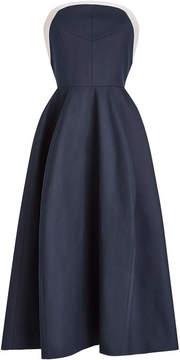 DELPOZO STYLEBOP.com Exclusive Strapless Dress in Cotton