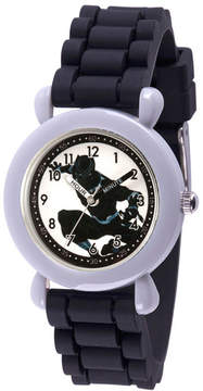 Marvel Avengers Boys Black Strap Watch-Wma000235