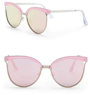 Quay Star Dust 56mm Cat Eye Sunglasses