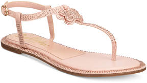 Callisto Geneve Embellished Strappy Flat Sandals Women's Shoes
