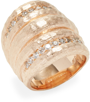 Rivka Friedman Women's CZ Dome Statement Ring