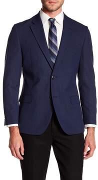 Nautica Glenplaid Notch Collar Jacket