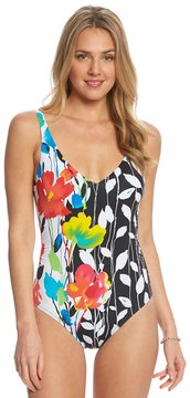 Anne Cole Growing Floral One Piece Swimsuit 8151757