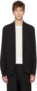 Attachment Black Shawlneck Cardigan