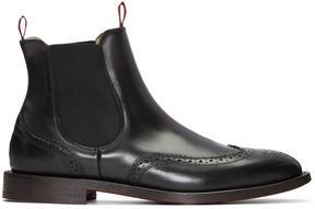 H By Hudson Black Breslin Boots