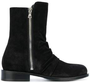 Amiri ankle zip boots